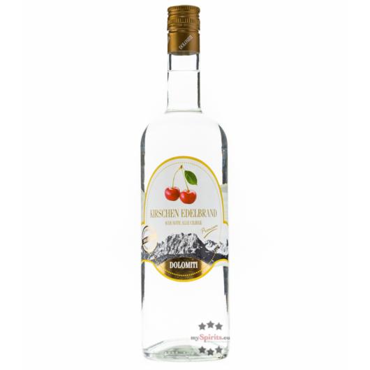 Dolomiti: Kirschen Edelbrand Premium / 40% Vol. / 1,0 Liter - Flasche