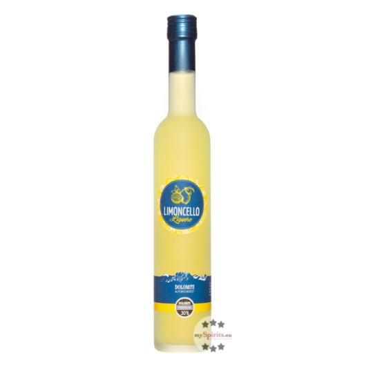 Dolomiti Limoncello Zitronenlikör / 30 % Vol. / 0,5 Liter-Flasche