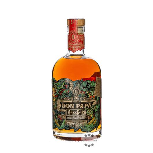 Don Papa Masskara (Rum-Basis) Spirit Drink / 40 % Vol. / 0,7 Liter-Flasche