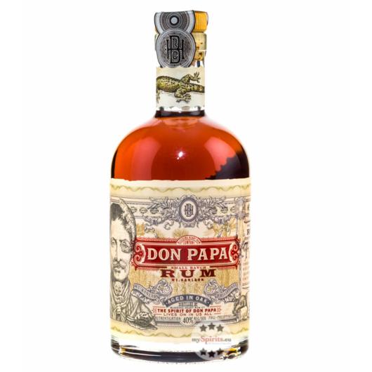 Don Papa Rum Philippinischer Small Batch Rum / 40 % Vol. / 0,7 Liter-Flasche