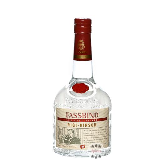 Fassbind Rigi-Kirsch Les Eaux de Vie / 41 % Vol. / 0,7 Liter-Flasche