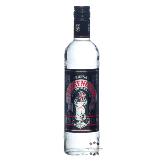 Behn: Original Friesengeist Likör / 56 % Vol. / 0,5 Liter-Flasche