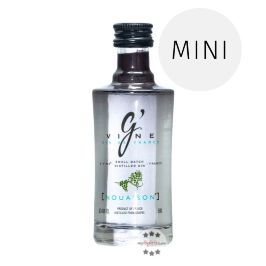 G'Vine Nouaison Gin Miniatur / 43,9 % Vol. / 0,05 Liter-Flasche