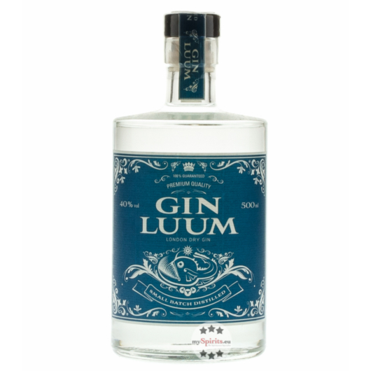 Gin Luum - London Dry Gin / 40 % Vol. / 0,5 Liter-Flasche