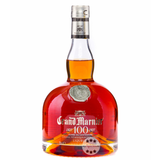 Grand Marnier Cuvée du Centenaire Likör / 40 % Vol. / 0,7 Liter-Flasche in Geschenkkarton