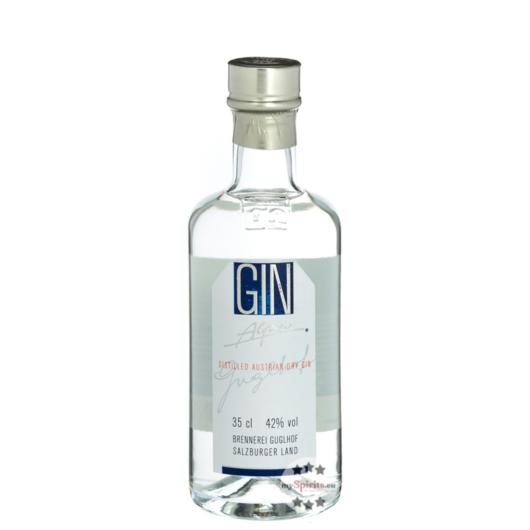 Guglhof Gin Alpin - Austrian Dry Gin / 42 % vol. / 0,35 Liter-Flasche
