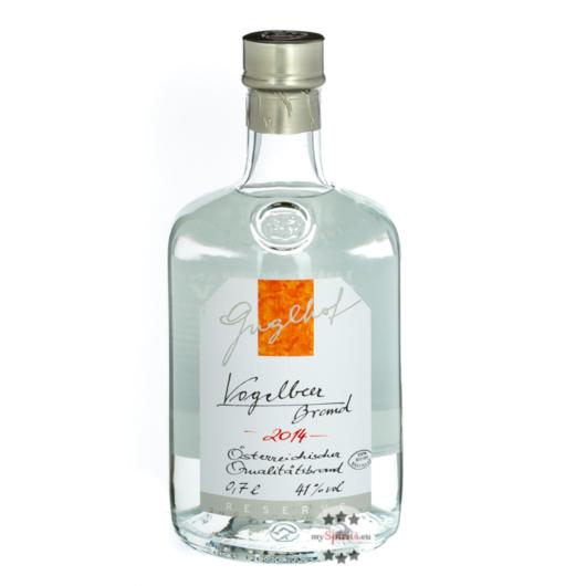Guglhof: Vogelbeer Brand - Jahrgangsbrand / 43% Vol. / 0,7 Liter - Flasche