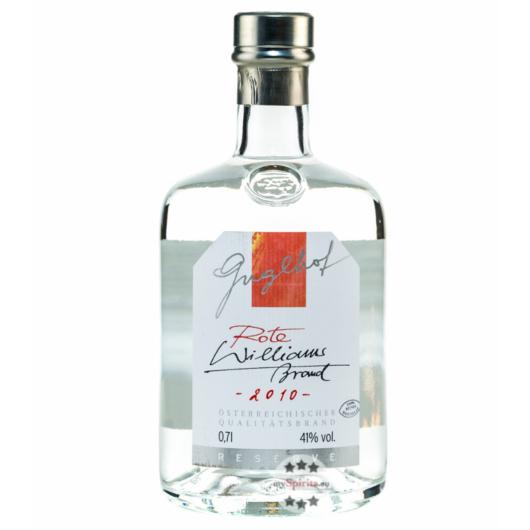 Guglhof Rote Williams Brand - Jahrgangsbrand Reserve / 41 % Vol. / 0,7 Liter-Flasche