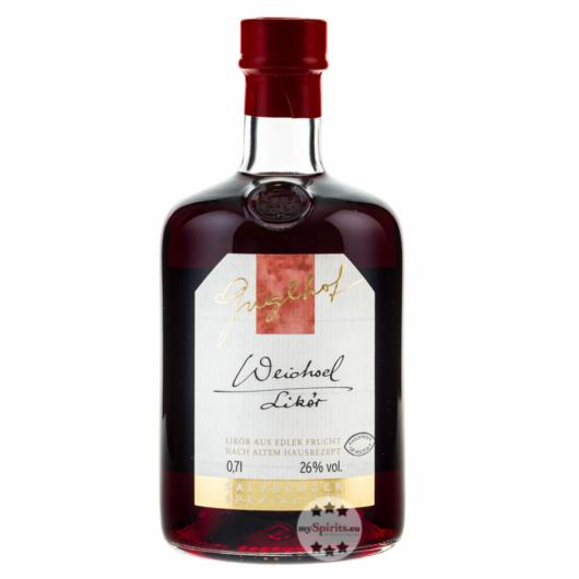 Guglhof Weichsel Likör - Sauerkirschlikör / 26 % Vol. / 0,7 Liter-Flasche
