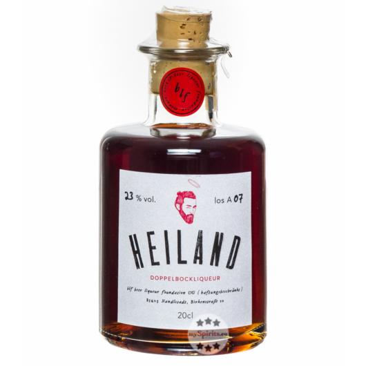 Heiland Bierliqueur aus Doppelbock / 23 % Vol. / 0,2 Liter-Flasche