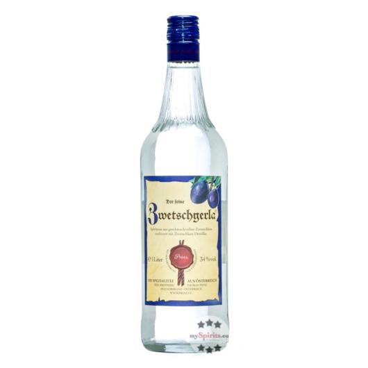 Prinz: Zwetschgerla / 34% Vol. / 1,0 Liter - Flasche