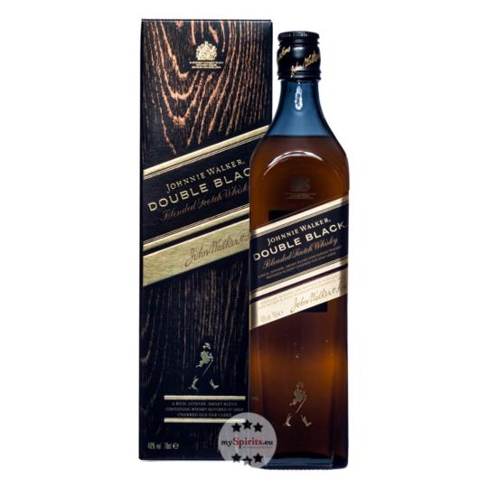 Johnnie Walker Double Black Label Whisky / 40 % Vol. / 0,7 Liter-Flasche in Geschenkkarton