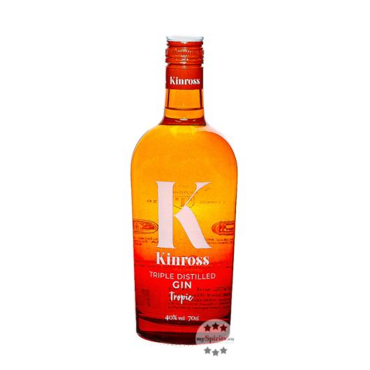 Kinross Gin Tropical & Exotic Fruits / 40 % Vol. / 0,7 Liter-Flasche
