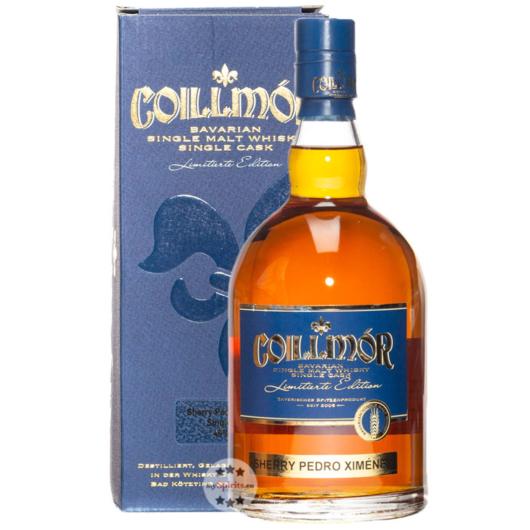 Liebl: Coillmor Sherry Pedro Ximénez Bavarian Single Malt Whisky / 46 % Vol. / 0,7 Liter-Flasche in Geschenkkarton