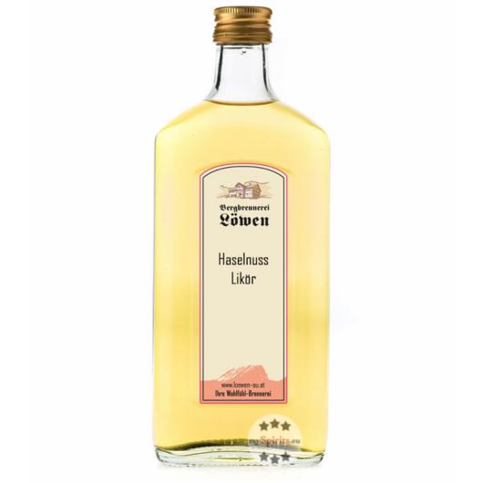 Löwen: Haselnusslikör / 25 % Vol. / 0,5 Liter - Flasche