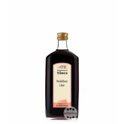 Löwen: Heidelbeerlikör / 25% Vol. / 0,2 Liter - Flasche