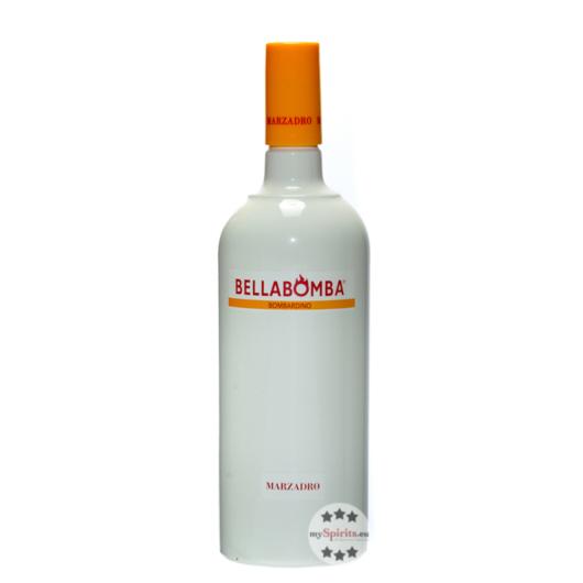 Marzadro: Bellabomba Bombardino Eierlikör mit Rum / 17 % Vol. / 1,0 Liter-Flasche