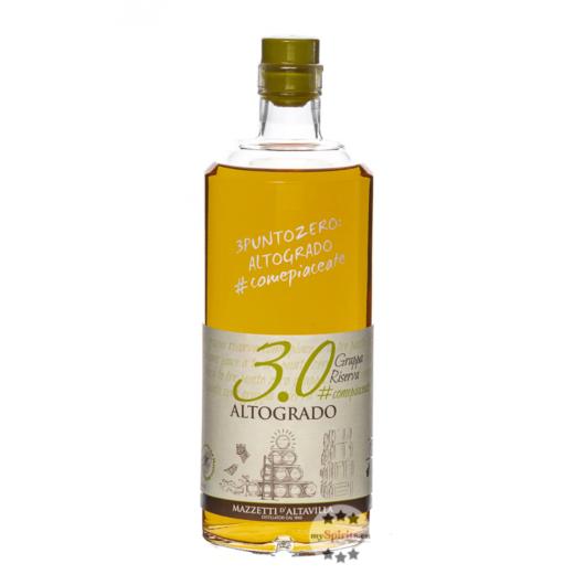 Mazzetti d'Altavilla Grappa 3.0 Grappa Altogrado / 51,4 % Vol. / 1,0 Liter-Flasche