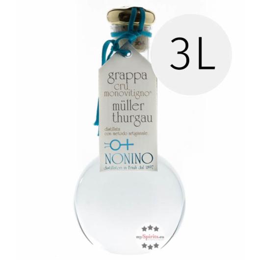 Nonino Grappa di Müller-Thurgau Cru Monovitigno / 45 % Vol. / 3,0 Liter - Flasche