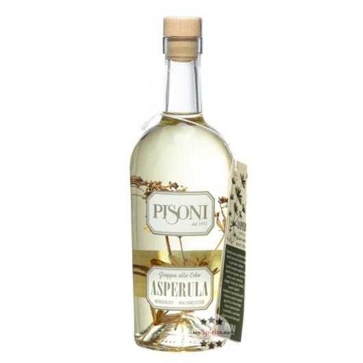 Pisoni Grappa Asperula - Waldmeister-Grappa / 40 % Vol. / 0,7 Liter-Flasche