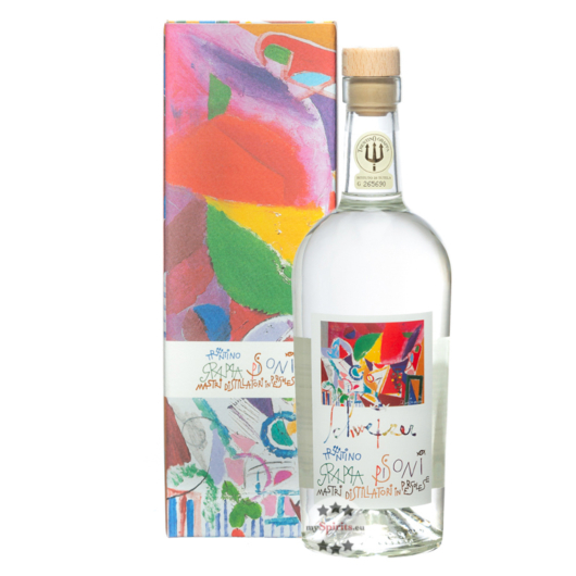 Pisoni Riccardo Schweizer Biance Grappa / 40 % Vol. / 0,7 Liter-Flasche
