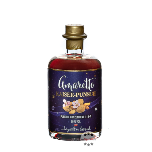 Prinz: Amaretto-Punsch / 30 % Vol. / 0,5 Liter-Flasche