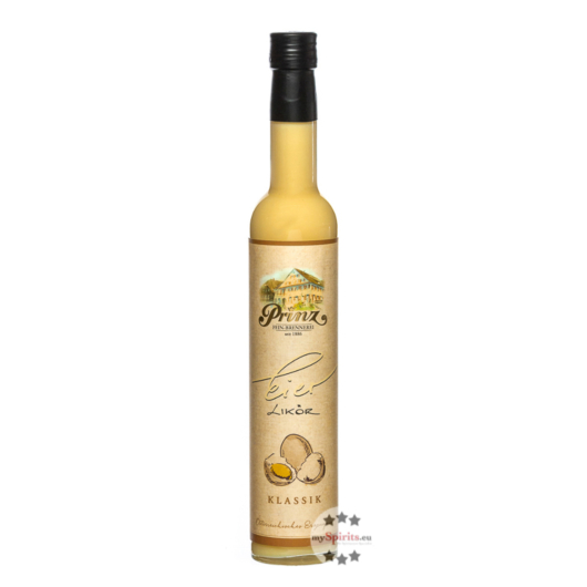 Prinz: Eierlikör Klassik / 15 % Vol. / 0,5 Liter-Flasche