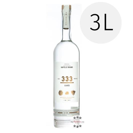 Prinz Hafele Brand 333 Beeren Cuvée / 45 % Vol. / 3,0 Liter-Flasche
