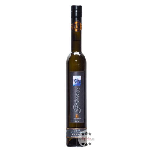 Prinz: Hafele Wild Heidelbeer Brand - im Steingut gereift / 43 % Vol. / 0,35 Liter - Flasche