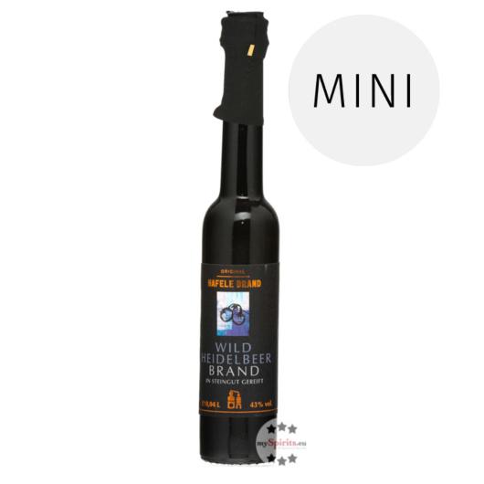 Prinz: Hafele Wildheidelbeer Brand Miniatur / 43 % Vol. / 0,04 Liter - Flasche