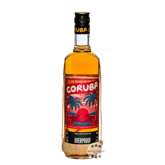 Rum Coruba Jamaica Overproof: Kultiger Cocktail-Rum / 74 % Vol. / 0,7 Liter-Flasche