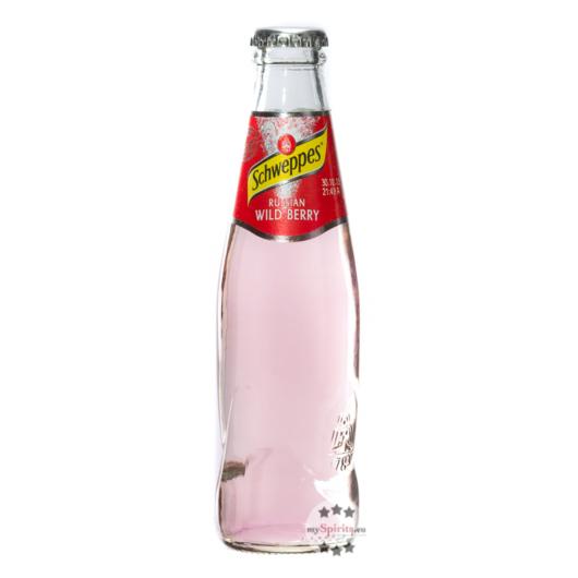 Schweppes Russian Wild Berry / 0 % Vol. / 0,2 Liter-Flasche inkl. 0,10€ Pfand