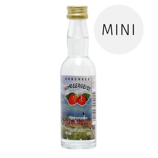 Steinhauser: Bodensee Himbeergeist / 40% Vol. / 0,04 Liter-Flasche