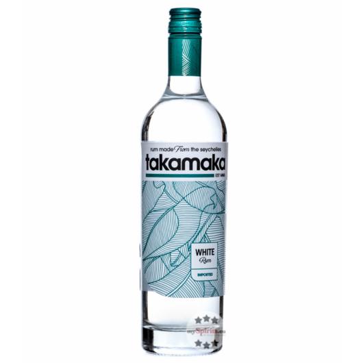 Takamaka White Rum / 38 % Vol. / 0,7 Liter