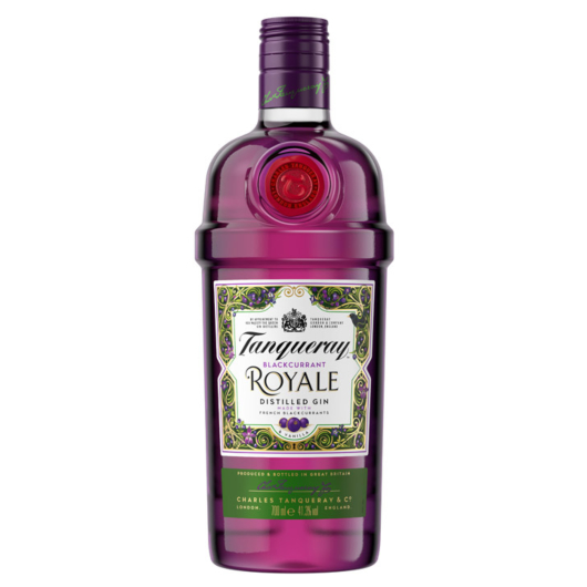Tanqueray Royale Blackcurrant Distilled Gin / 41,3 % Vol. / 0,7 Liter-Flasche