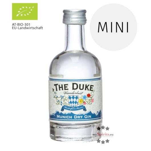 The Duke Wanderlust Gin Mini Munich Dry Gin Bio / 47 % Vol. / 0,05 Liter-Flasche