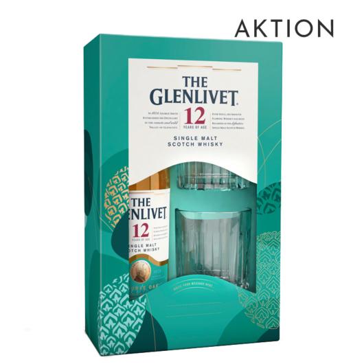 The Glenlivet 12 Jahre Single Malt Scotch Whisky / 40 % Vol. / 0,7 Liter-Flasche AKTION Onpack