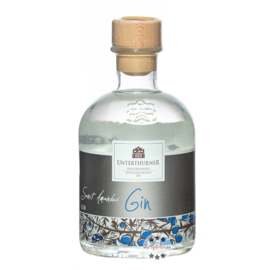 Unterthurner Gin - Sanct Amandus / 45 % Vol. / 0,7 Liter-Flasche