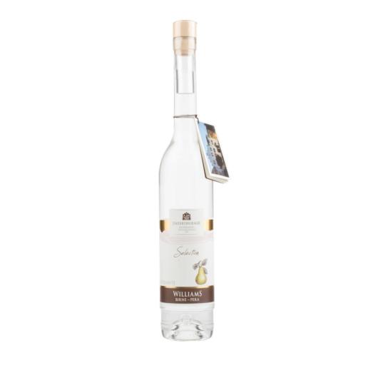 Unterthurner Williams Birne Selection Edelbrand / 39 % vol. / 0,5 Liter-Flasche