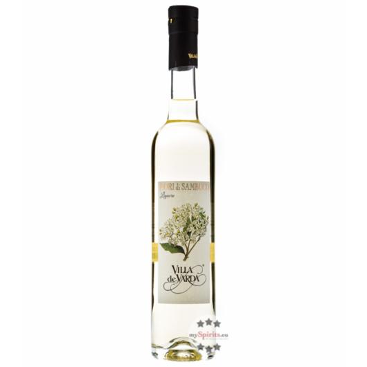 Villa de Varda Liquore Fiori di Sambuco - Holunderblütenlikör / 21 % Vol. / 0,5 Liter-Flasche