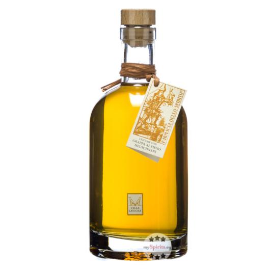 Villa Laviosa Heulikör mit Grappa - Liquore con Grappa al Fieno / 30 % Vol. / 0,7 Liter-Flasche