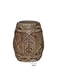 Plantation Rum Tiki Mug Tonbecher (Trinkglas) / ca. 350 ml / Ø ca. 9 cm / H: ca. 11,5 cm