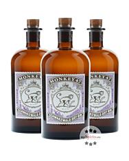 Monkey 47 Schwarzwald Dry Gin / 47 % Vol. / 3 x 0,5 Liter-Flasche