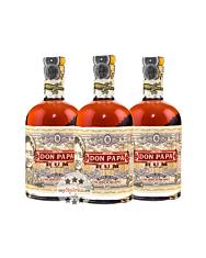 Don Papa Rum aus Philippinien / 40 % Vol. / 3 x 0,7 Liter-Flasche