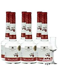 Unterthurner Waldler Original 6er-Kombi / 39 % Vol. / 6 x 0,7 Liter-Flasche + 1 x gratis mySpirits Schnapskelch
