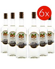 Dolomiti: Haselnuss Premium /  40% Vol. - 6 x 1 Liter Flasche