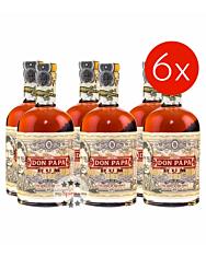 Don Papa Rum aus Philippinien / 40 % Vol. / 6 x 0,7 Liter-Flasche