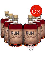 Rum Coconut Likör mit Inländerrum 6 Flaschen