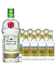 Tanqueray Gin Rangpur (41,3 % Vol. / 0,7 Liter) + 8 x Fever-Tree Indian Tonic (0,2 L) inkl. 1,20 € PfandTanqueray Gin Rangpur (41,3 % Vol. / 0,7 Liter) + 8 x Fever-Tree Indian Tonic (0,2 L) inkl. 1,20 € Pfand
