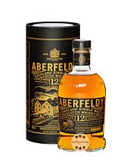 Aberfeldy 12 Years Highland Single Malt Scotch Whisky / 40 % Vol. / 0,7 Liter-Flasche in Geschenkdose